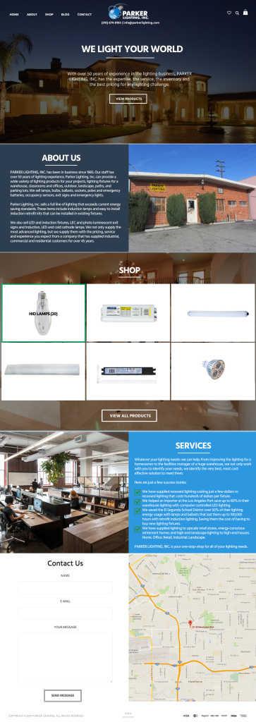 web design in los angeles mockup